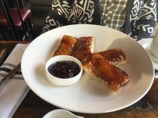 Walnut French Toast with Bacon Jam